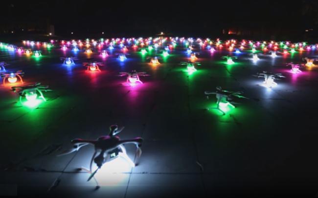 Espectaculo Drone Light Show España