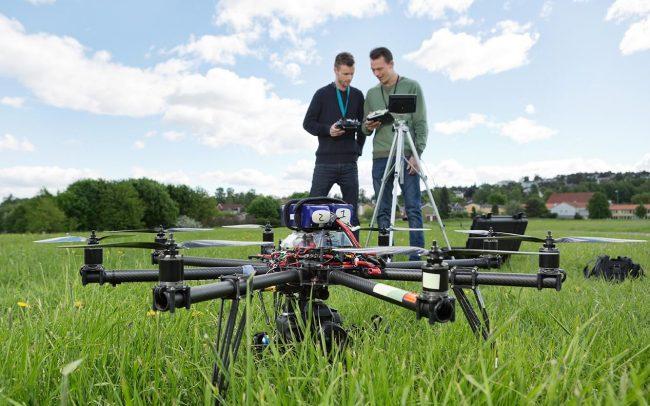 Agricultura con drones